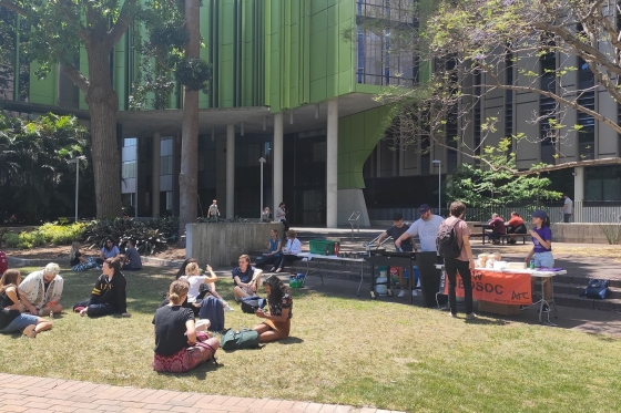 Student Life on UNSW Campus